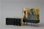 Przekaźniki dwubiegunowe RJ2S-CL-D12 2 styki przełączne, 8A, z diodą LED  IDEC